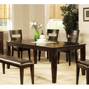 Steve Silver Victoria Dining Table W Leaf Dining Table Dining