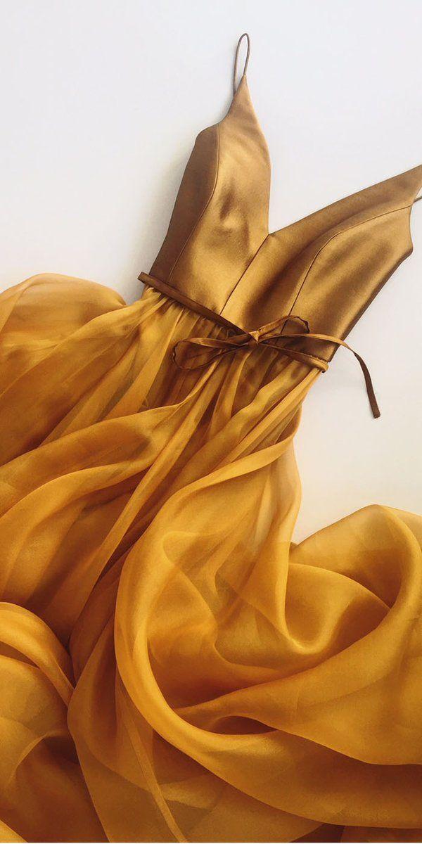 Courroie spaghetti une ligne v cou formelle pas cher robes de bal longues, WP002 #promdresses