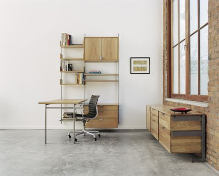 The Modular Furniture System Home Office With Desk Cabinet