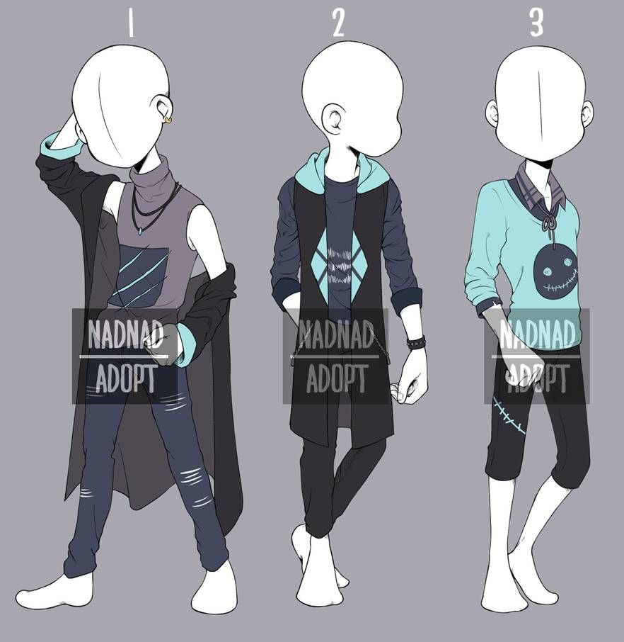 Closed Casual Boy Fashion Adopt 5 By Nadiasyahda Anime Outfits Drawing Clothes Drawing Anime Clothes
