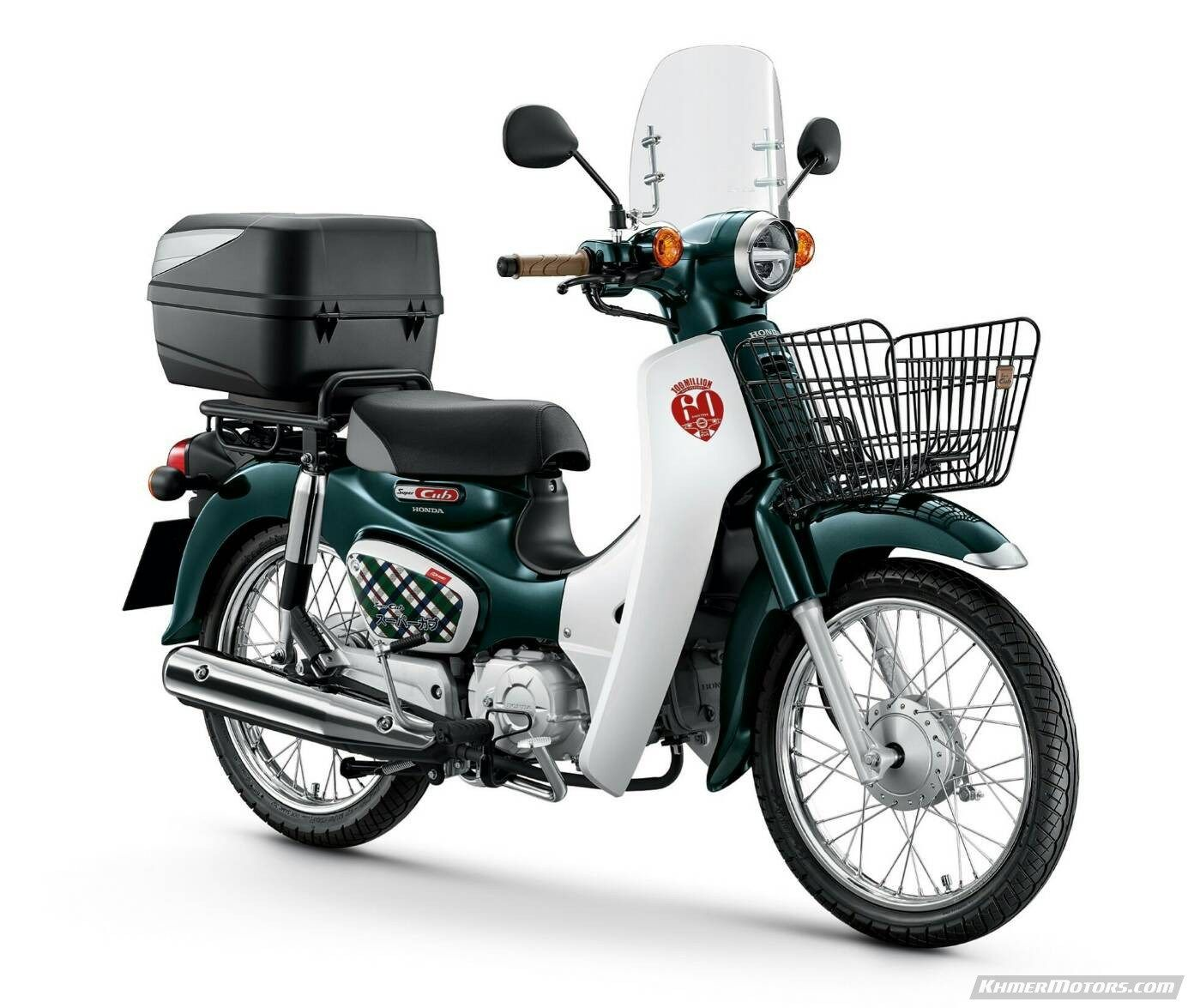 Honda Super Cub 2018 1 Set C70 7 Motorcycle News Cubs Motors