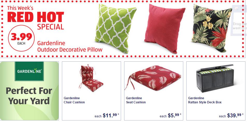 Aldi Deals On Patio Furniture Cushions Patio Furniture