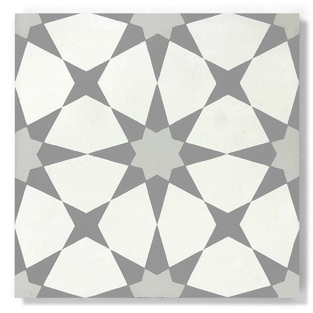 Tunis 4x4 Solid Color Encaustic Cement Tile By Zia Tile Los