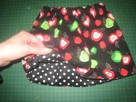 How to make things reversible without bias tape