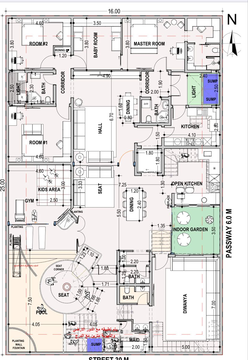 تصميم سرداب فيلا الكويت House Plans Floor Plans How To Plan
