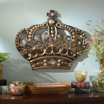Her Crown Gold Jeweled Wall Plaque | Kirklands. Toskanische  EinrichtungWandtafelnSchrank IdeenWandschmuckWohnkultur ...