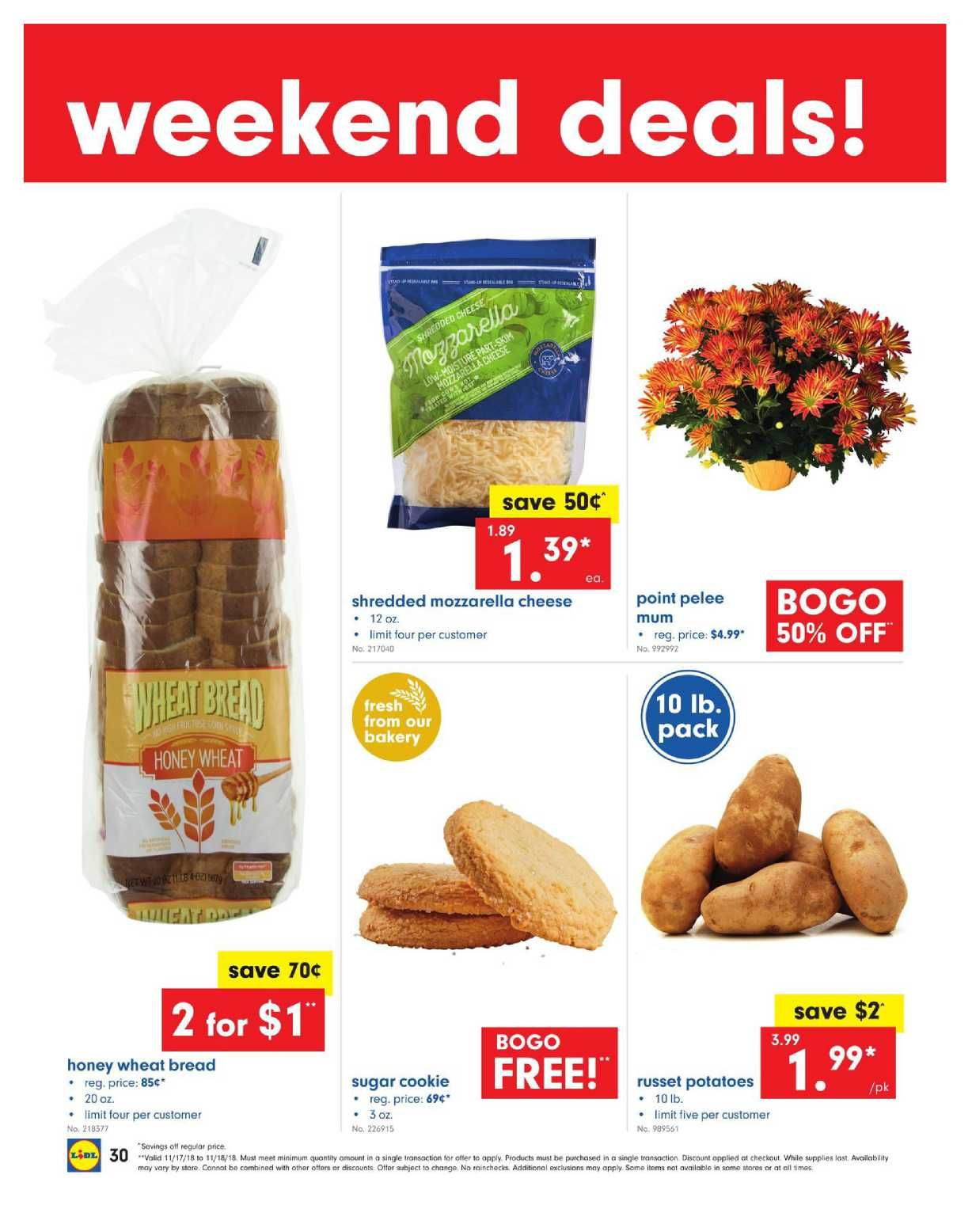 34aa038a0 Lidl Weekend Super Deals November 17 – 18, 2018. Find Latest Weekly ad  Circular