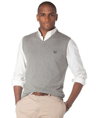 Chaps Classic-Fit Eaglebrook Solid Sweater Vest #Kohls ...