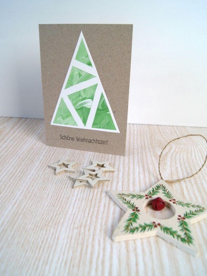1001 + tutos et modèles de carte de Noël à fabriquer | Place card holders, Cards, Christmas cards