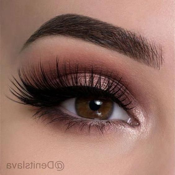 52 Best Gorgeous And Trendy Brown Eyes Makeup Design For Prom Or Party 💋 - Makeup Idea 39 💕