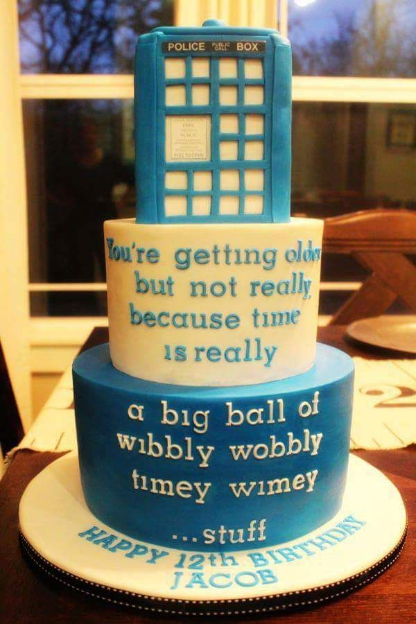 Terrific Doctor Who Timey Wimey Birthday Cake Doctor Who Cakes Dr Who Funny Birthday Cards Online Inifofree Goldxyz