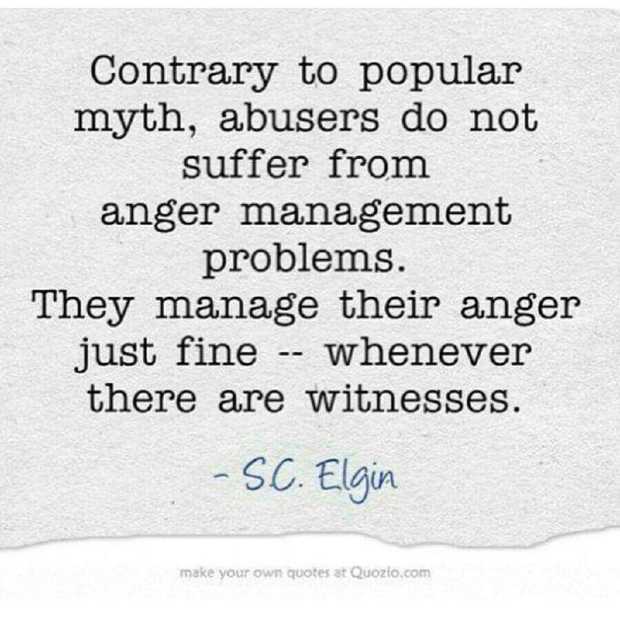 Abuse Quotes: Anger And Narcissistic Sociopath Relationship Abuse