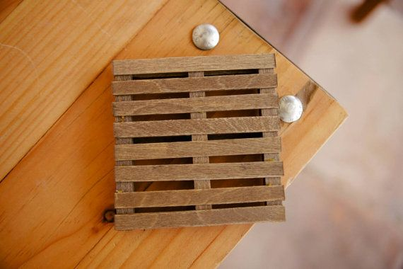 Hey, I found this really awesome Etsy listing at https://www.etsy.com/listing/194345374/mini-pallet-coasters-pallet-coasters