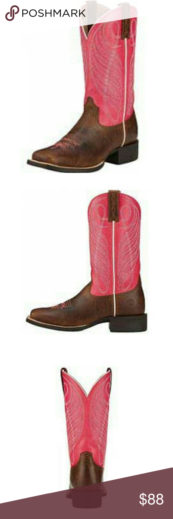 FLASH SALE ☇Hot Pink Ariat Boots