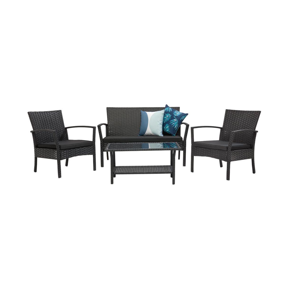 sofa slipcovers kmart australia stanton next 4 piece wicker conversation set outdoor pinterest