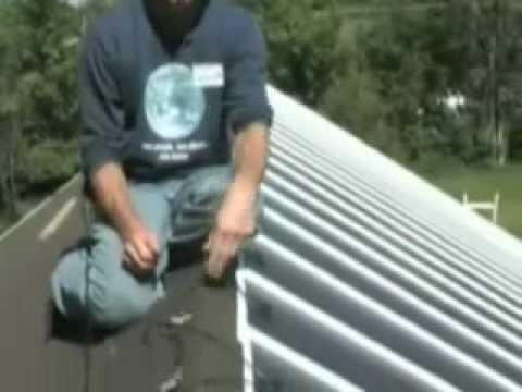 Solar Metal Roofing Unisolar thin film PV laminates