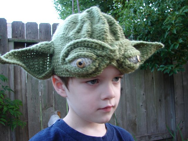 yoda ears hat knitting pattern 3d