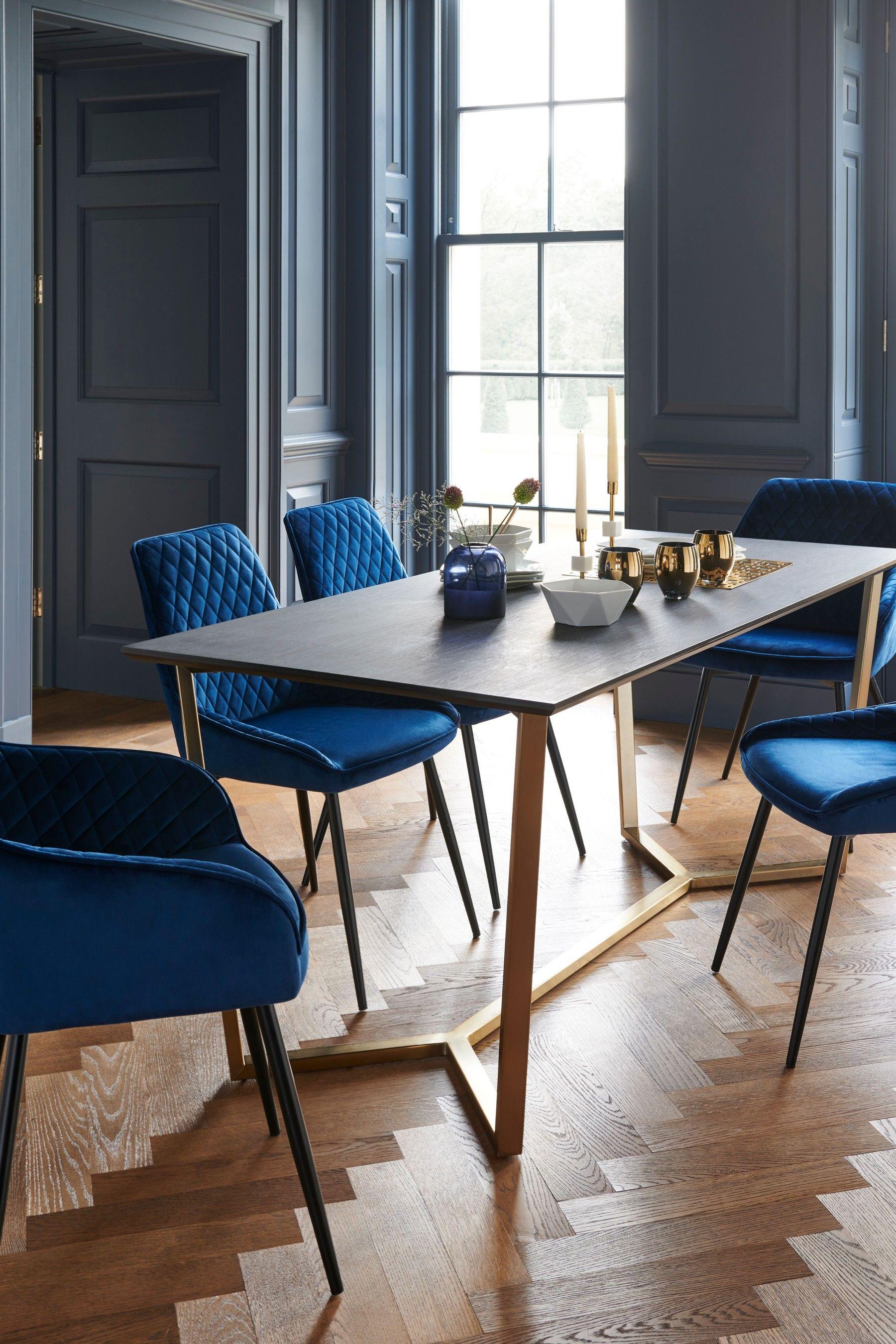 Next Venetia Black Dining Table   Black   Round dining table sets ...