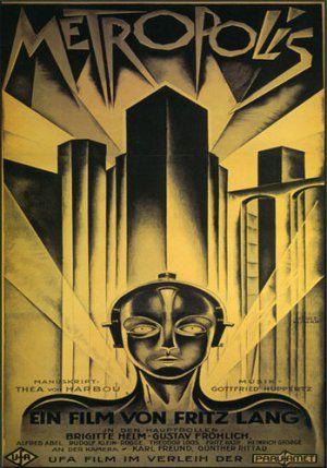 Metropolis Xl Huge Beautiful Art Deco Movie Poster Metropolis Poster Best Movie Posters Movie Posters Vintage