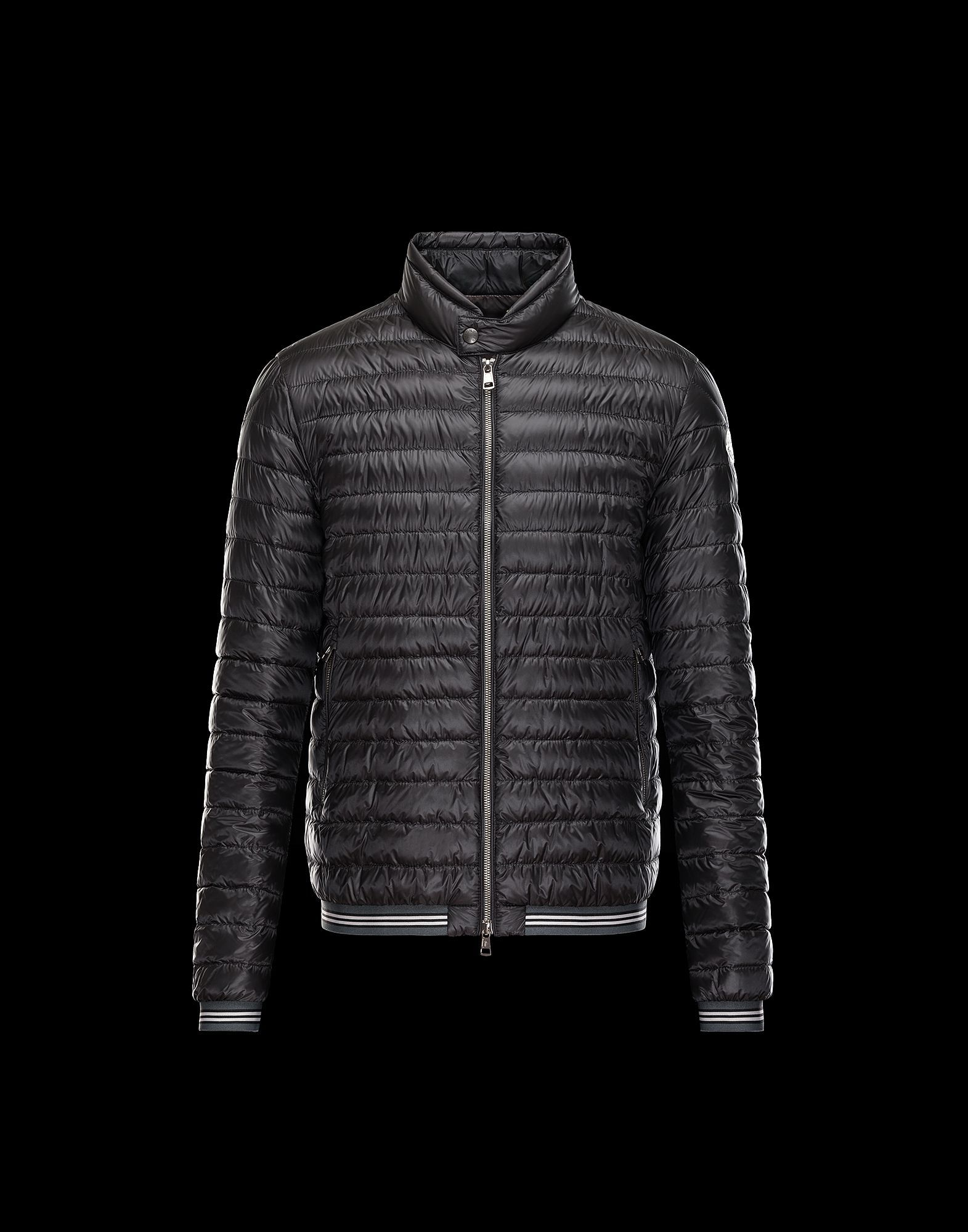moncler jacket black mens