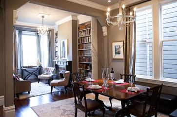 How To Combine Area Rugs In An Open Floor Plan Dining Room