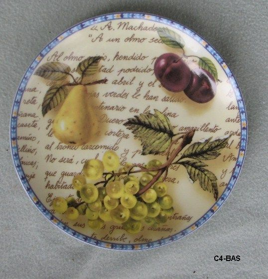 Formalities by Baum Bros Eden Collection Two Decorative Plates Seth Adan - Decorative Plates & Bowls, #Starchild3