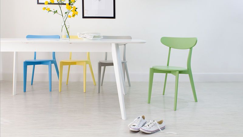 Colourful Kitchen Chairs