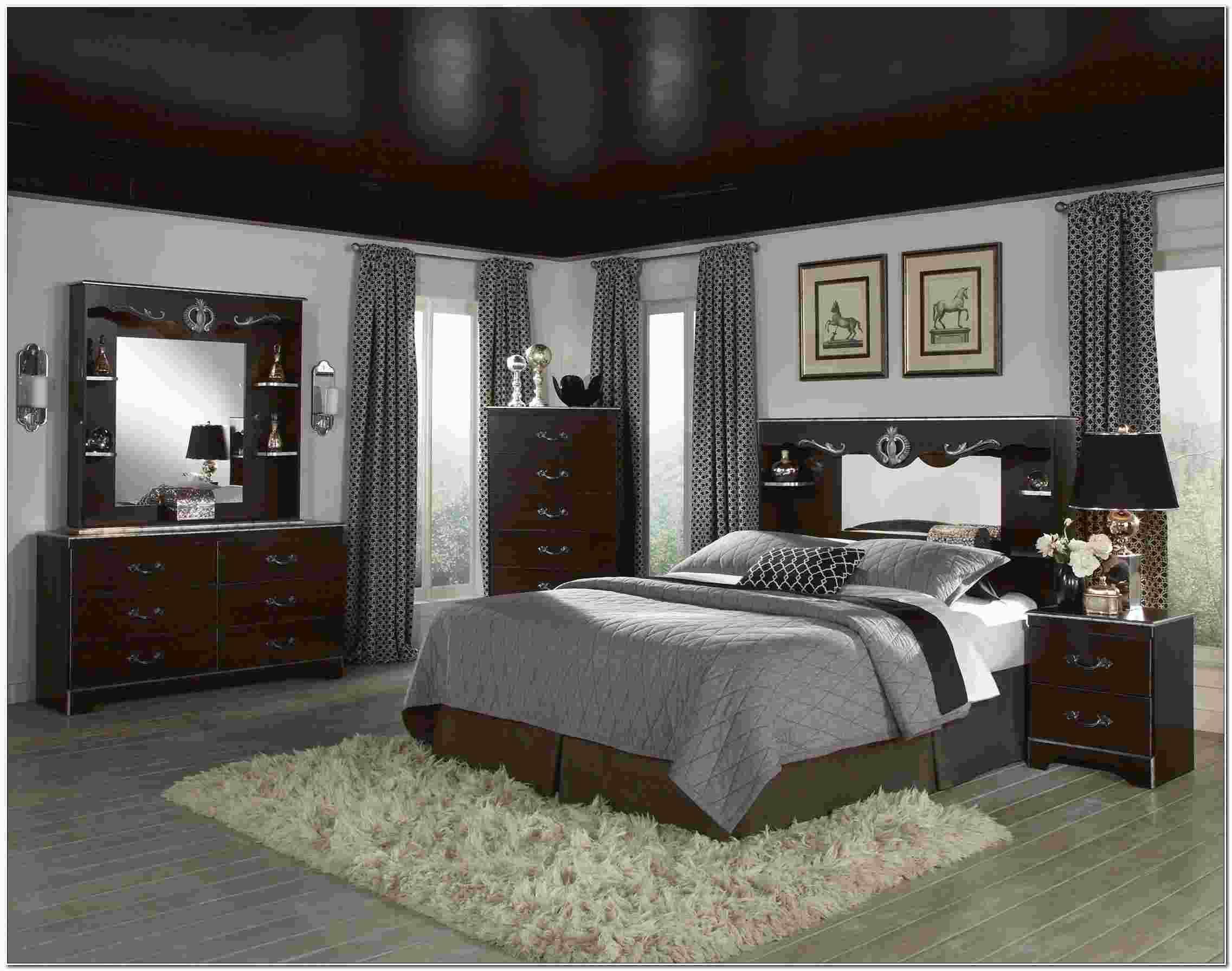 Dark grey wood bedroom furniture wood bedroom wood