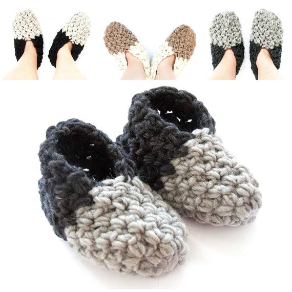 Crochet Pattern Cozy Slippers Crochet Pattern Pdf Crochet