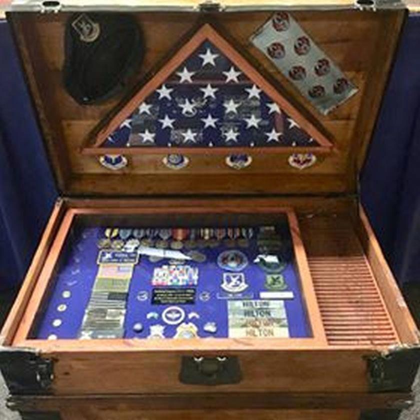 Original Christmas Gifts For him   Military shadow box ...