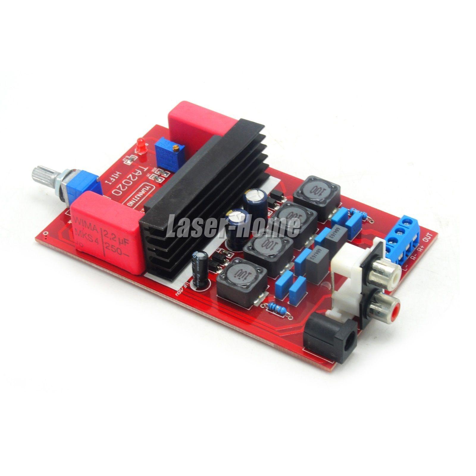 Tpa3116d2 100w Digital Amplifier Board Subwoofer Ne5532 Am 2x50w Stereo Class D Audio Power Circuit Ebay Ta2020 20w 2 Dc12v 3a Amp Parts