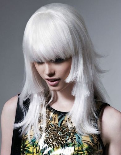 platinum-blonde-hair-color | Length Hair | Pinterest | Blonde ...