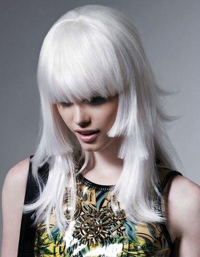 platinum-blonde-hair-color | Length Hair | Pinterest | Platinum ...
