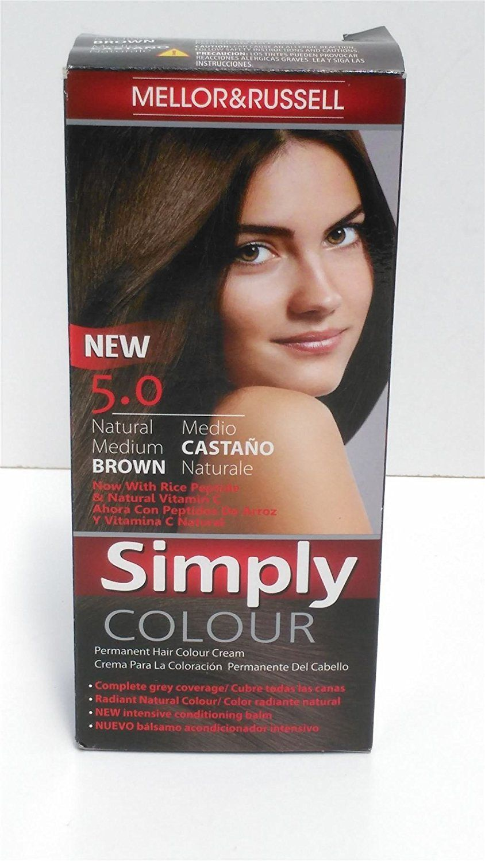 Schwarzkopf Natural And Easy Hair Color 47 Medium Brown Ammonia