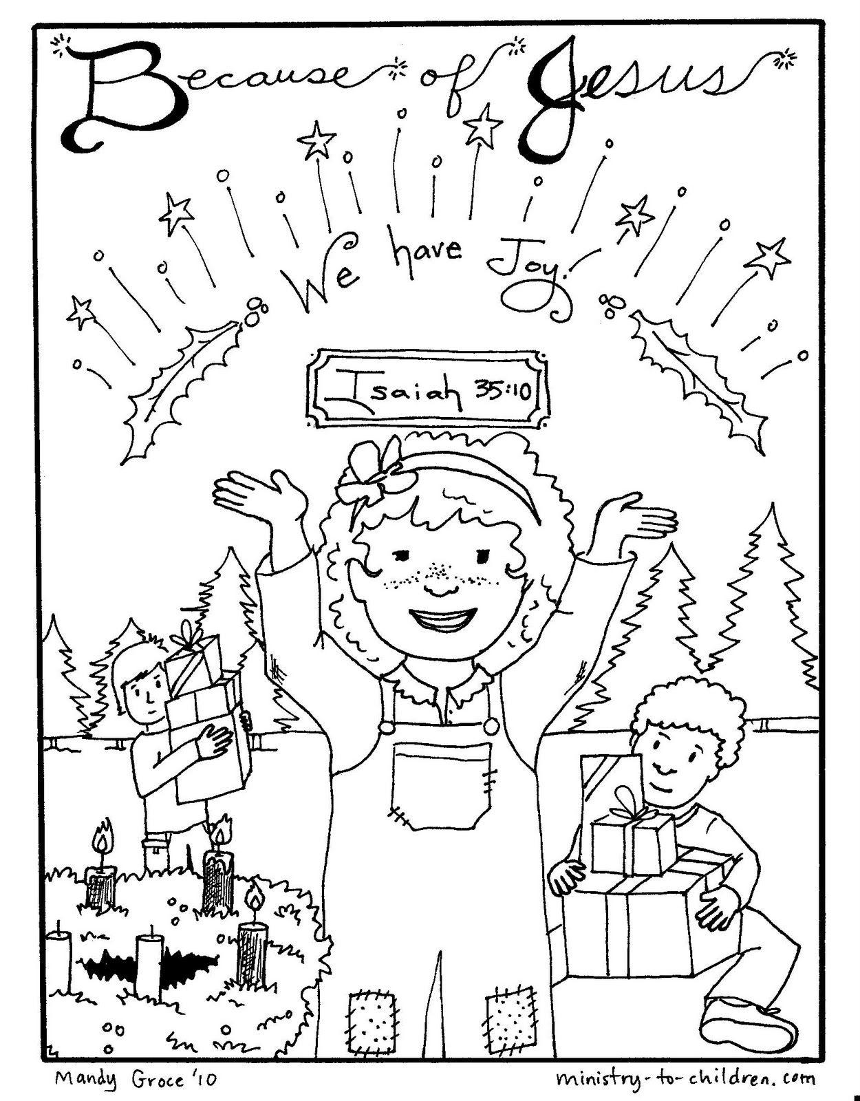 advent coloring pages | advent-coloring-pages-joy.jpg | Sunday ...