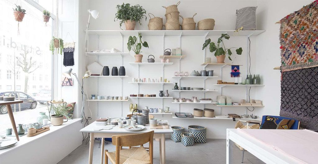 Home Decor and Interiors Shop Display