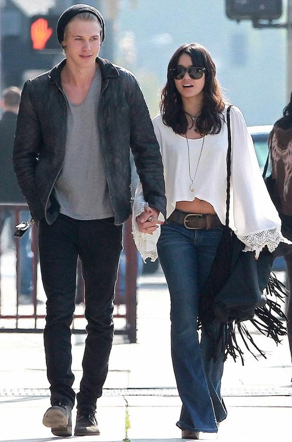 Something and Vanessa hudgens and austin butler