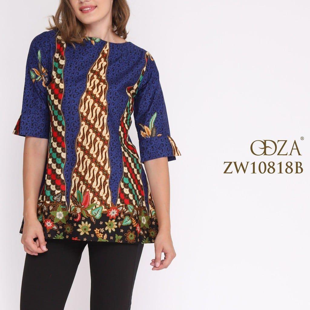 Model Baju Batik Modern Lengan 11/11 di 11  Wanita, Model, Lengan