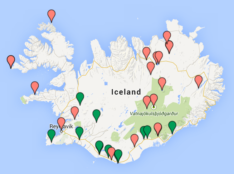 This is my Iceland | ICELAND MAPS | Iceland und Map
