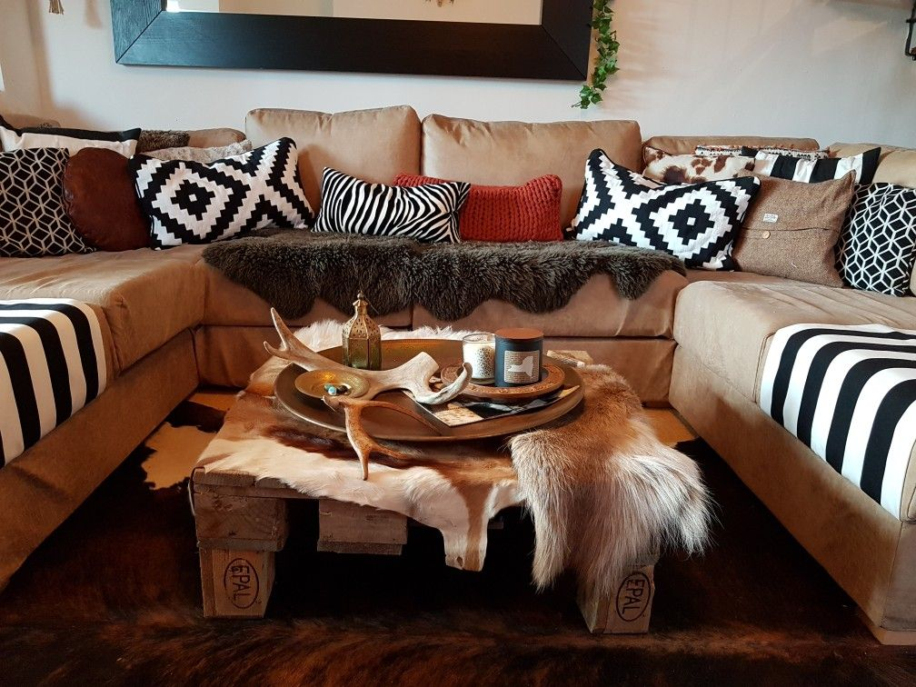 My Living Room New Mexico Style With Native American Black And
