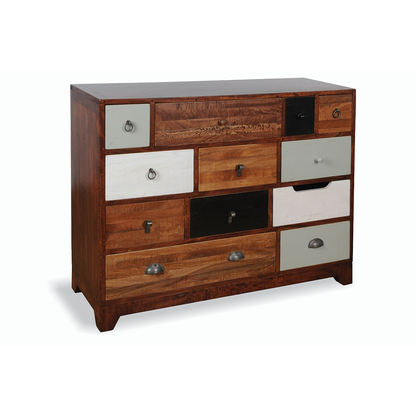 Rye 12 Drawer Chest Of Drawers Multicoloured Chest Of Drawers