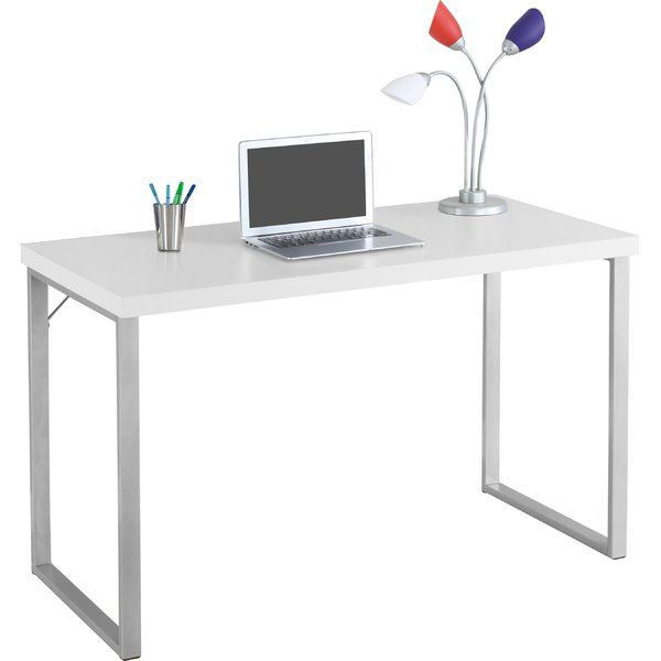 This Sleek And Contemporary Work Desk Is The Perfect Combination