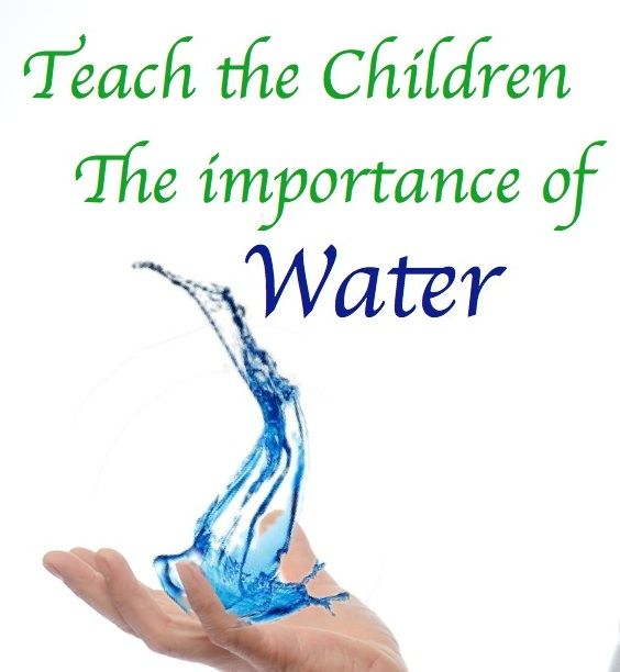 Teaching Children: Why Save Water~I Am Consistently On It