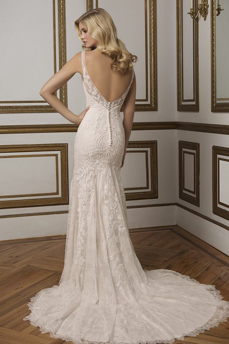 15++ Straight wedding dresses with lace ideas