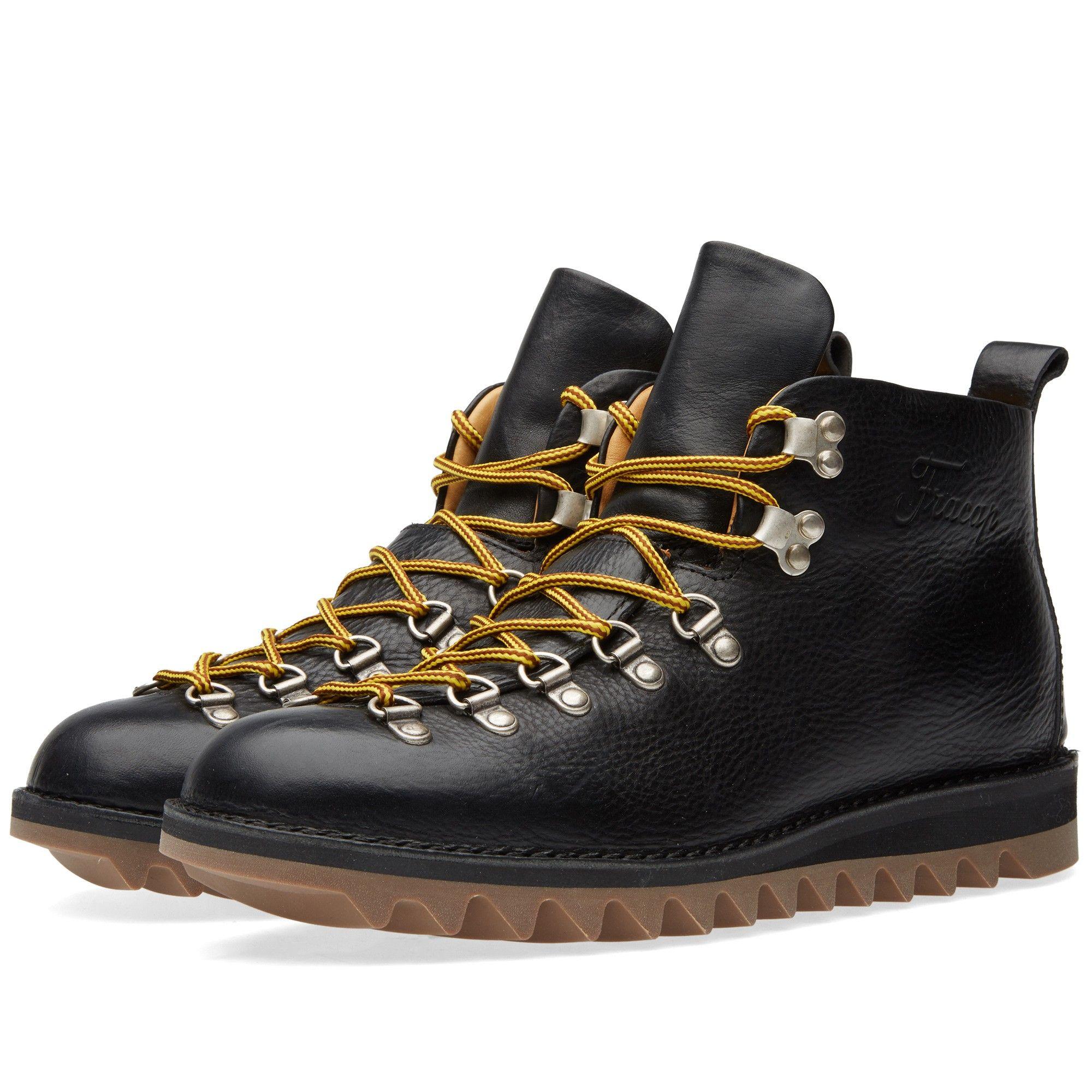 Fracap M120 Ripple Sole Scarponcino Boot (Black)