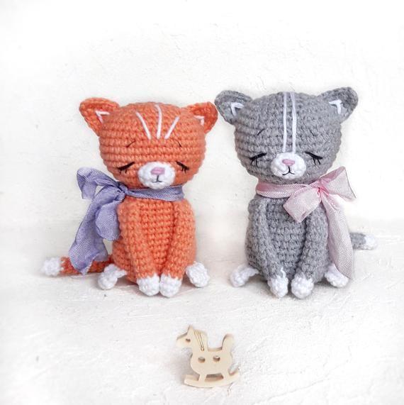 Amigurumi Pattern Crochet Kitten Pattern Crochet Pattern Amigurumi