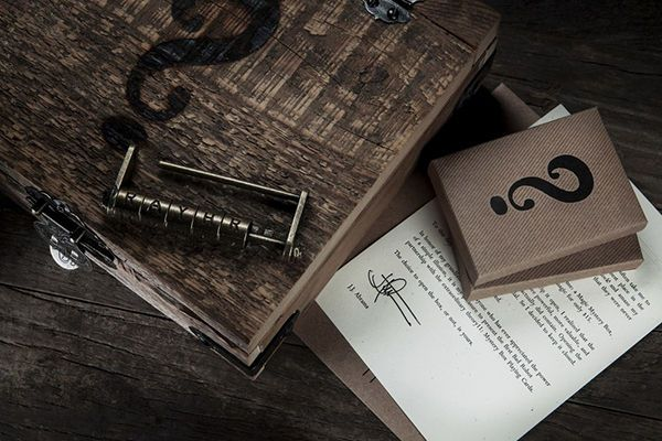 Director-Approved Secret Chests - Mystery Box Playing Cards by J.J. Abrams is Source of Inspiration (GALLERY)