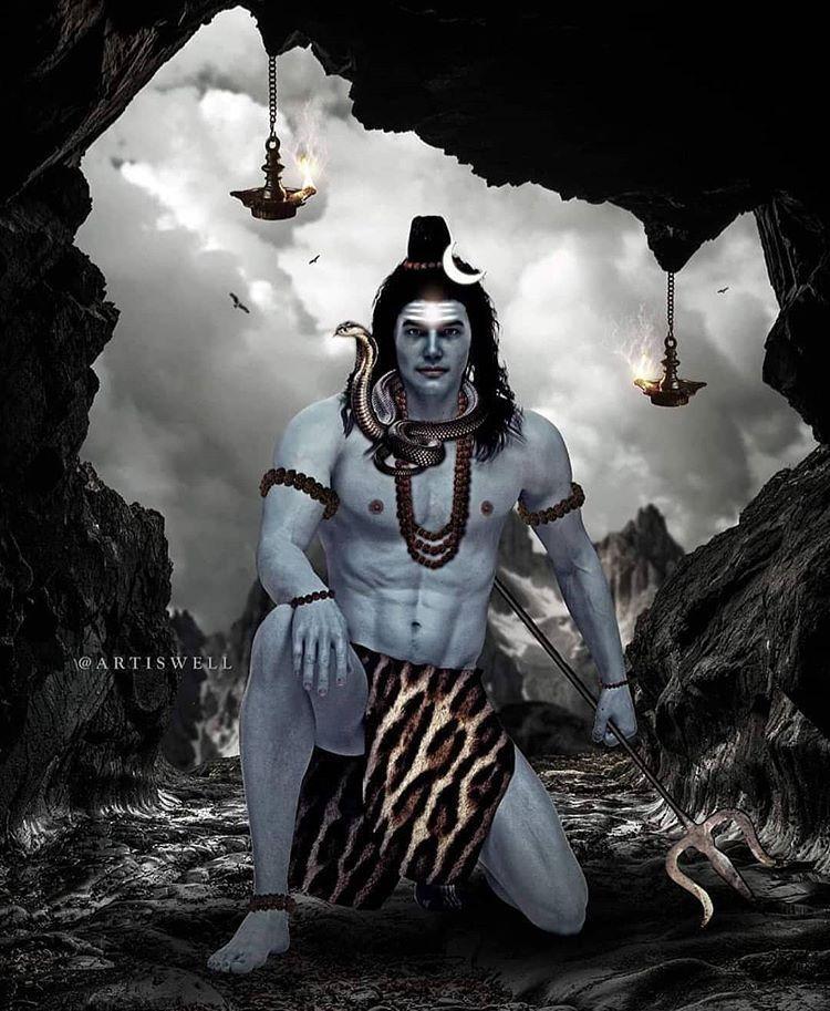Pin On Shiva Lord Wallpapers Lord Hanuman Wallpapers Shiva Lord Wallpapers Shiva Hindu Wallpaper cave mahakal photo hd