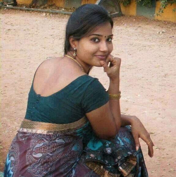 A Cute Tamil Girl, A Good Pose And A Nicely Draped Saree