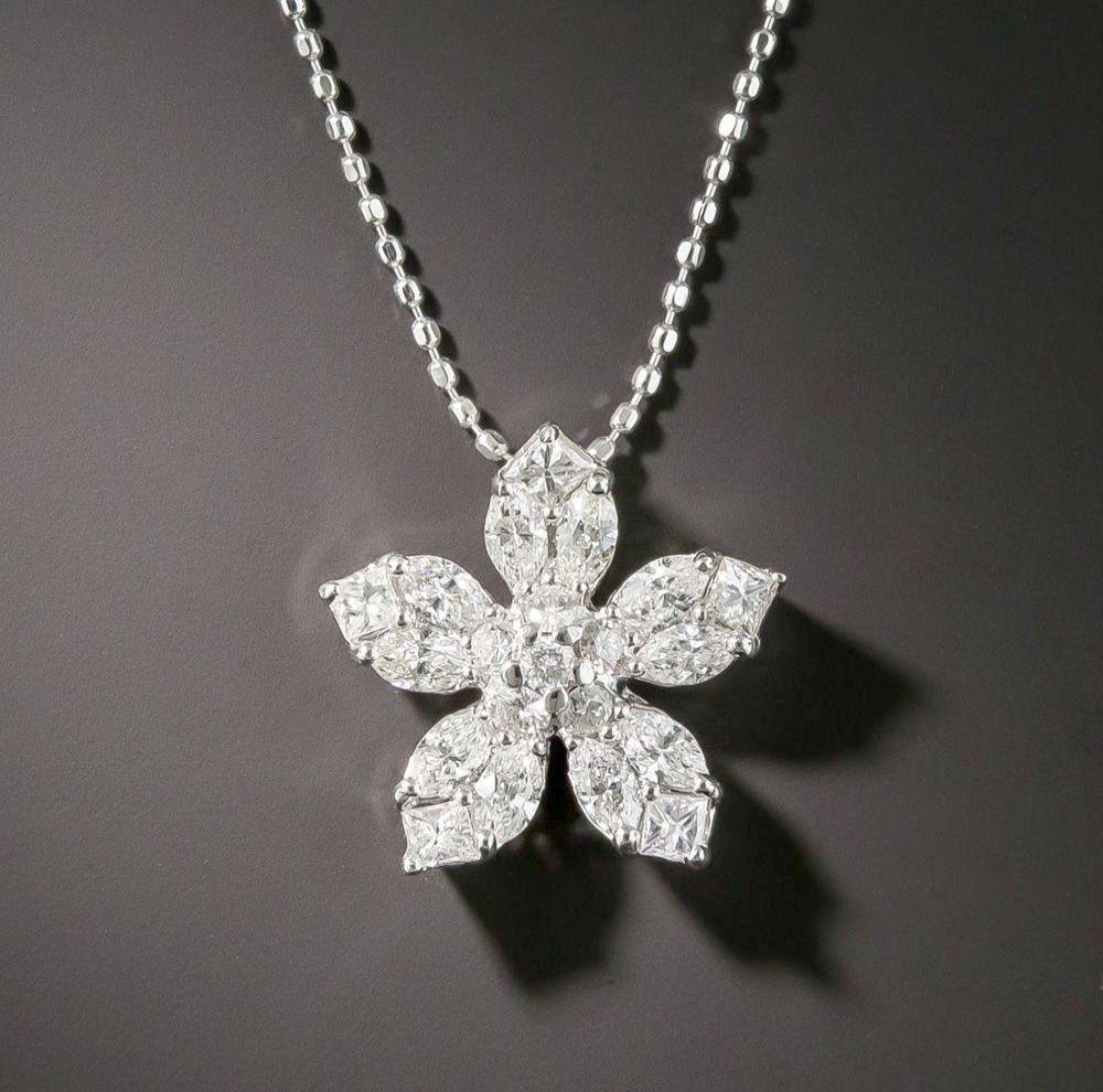 Diamond Necklace New Design Any Jewellery Exchange Street